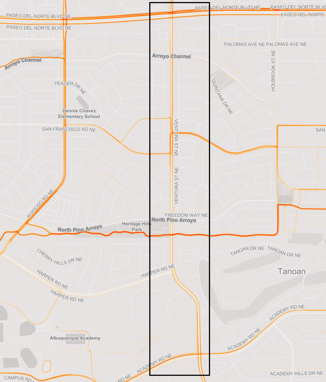 Albuquerque Academy Campus Map.A 5 Step Citizen Planning Process To Advocate For New Bike Lanes