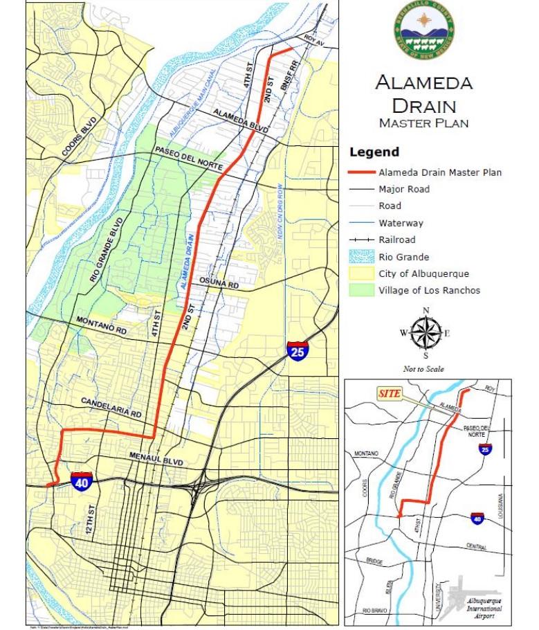 alameda drain project