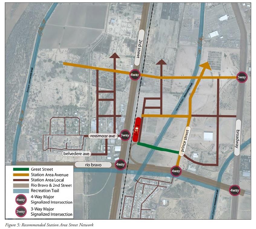 sunport rail runner plan streets