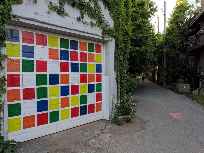 mural garage door 2