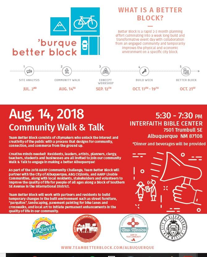 better block walk and talk