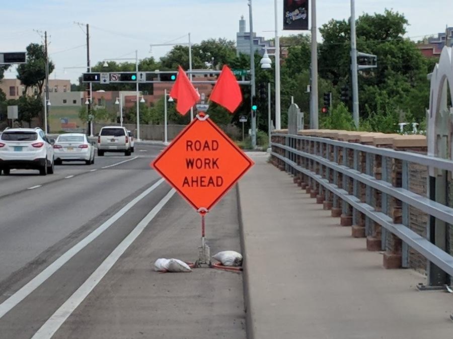 road work ahead again