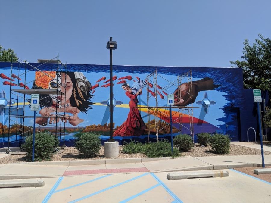 SVA mural excerpt