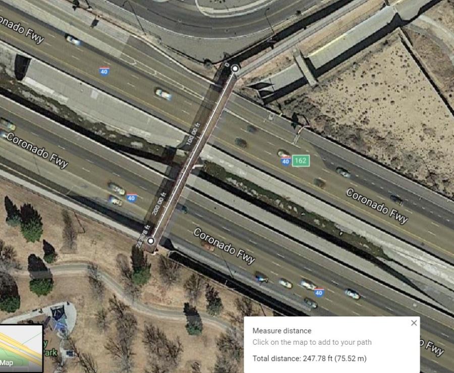 penn and I-25 bridge
