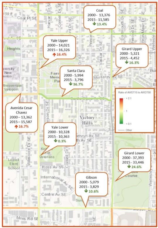 vhna traffic study counts