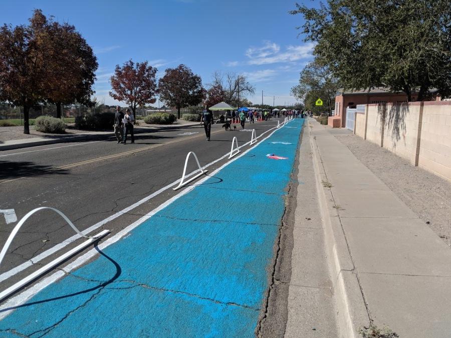 protected bike lane ciq