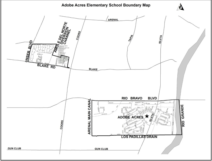 adobe acres boundary