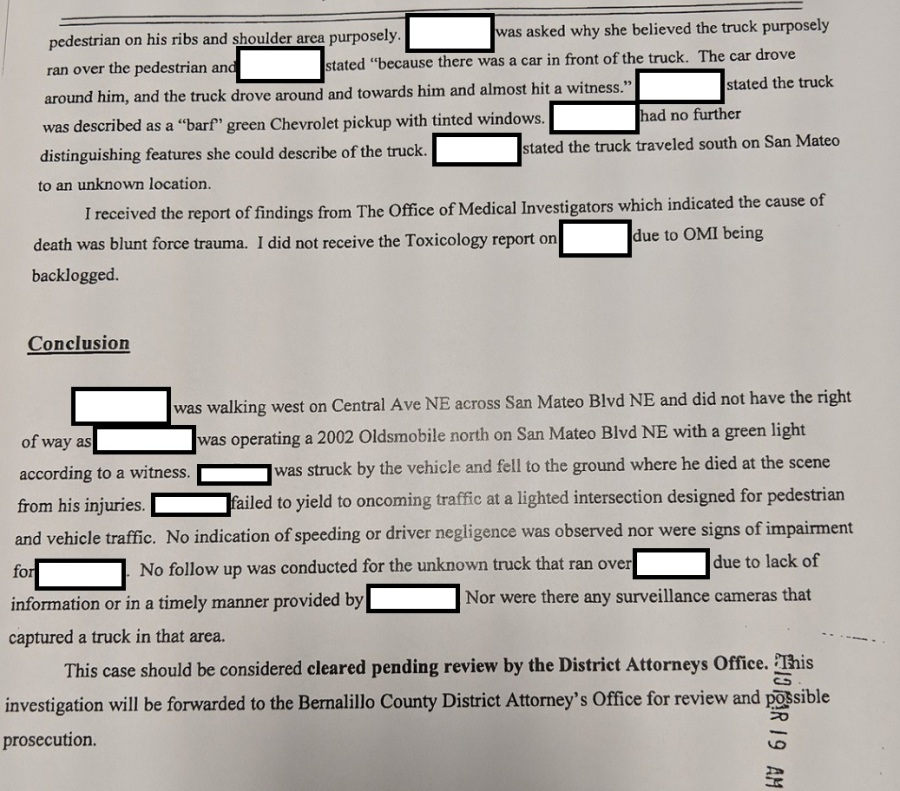 barf green redacted page two