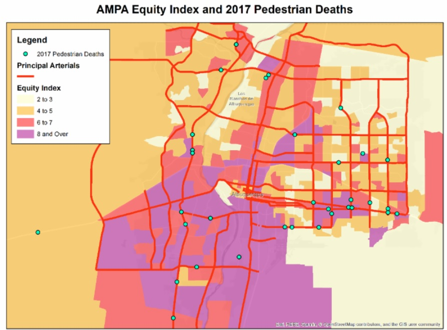 AMPA equity and 2017 deaths