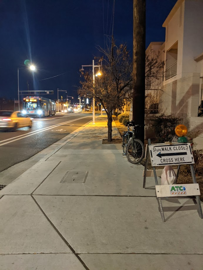 sidewalk open