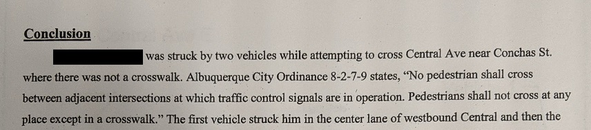 another case of abq city ordinance